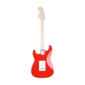 Squier Affinity Stratocaster Electric Guitar, Laurel Fb, Race Red