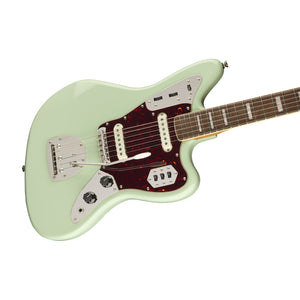 SQUIER CLASSIC VIBE 70S JAGUAR ELECTRIC GUITAR LAUREL FB, SURF GREEN 374090557