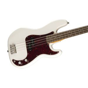Squier Classic Vibe 60s Precision Bass Guitar, Laurel FB, Olympic White