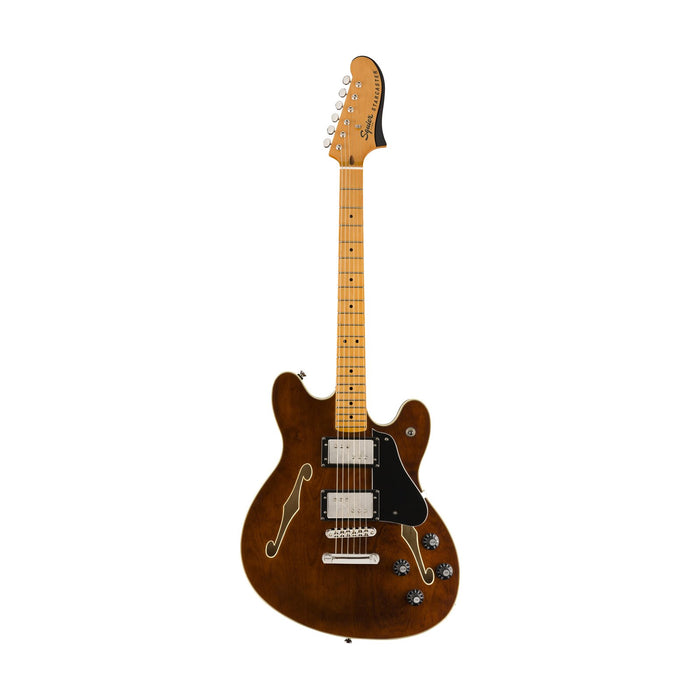Squier Classic Vibe Starcaster Electric Guitar, Maple FB, Walnut
