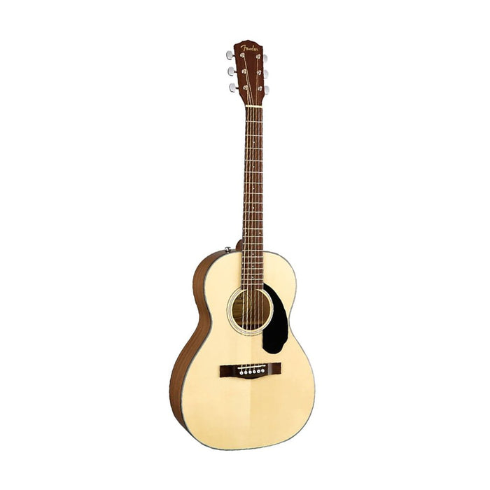 Fender CP-60S Parlor Acoustic Guitar, Walnut FB, Natural