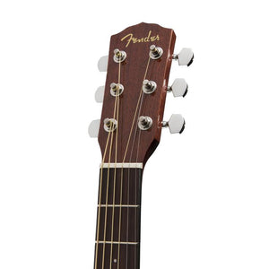 Fender CC-60SCE Concert Acoustic Guitar, Walnut FB, Natural