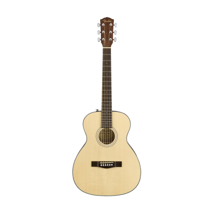 Fender CT-60S Travel Acoustic Guitar, Walnut FB, Natural