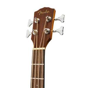 Fender CB-60SCE Acoustic Bass Guitar w/Cutaway & Electronics, Laurel FB, Natural