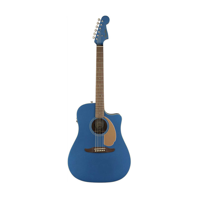 Fender Redondo Player Slope-Shouldered Acoustic Guitar, Belmont Blue