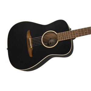 Fender Malibu Special Small-Bodied Acoustic Guitar w/Bag, Matte Black