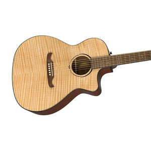 Fender FA-345CE Auditorium Acoustic Guitar w/Cutaway & Electronics, Laurel FB, Natural