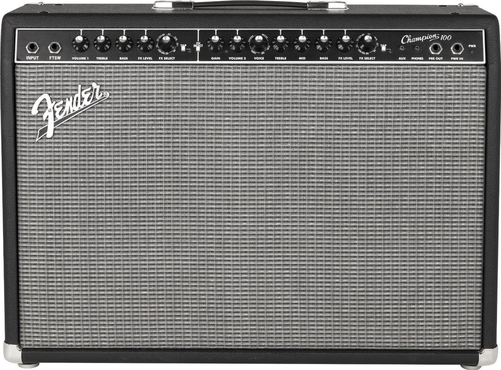 "FENDER CHAMPION 100 100-WATT 2x12"" ELECTRIC GUITAR COMBO AMPLIFIER 
