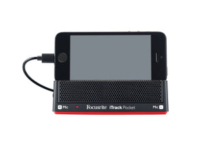 FOCUSRITE iTRACK POCKET AUDIO INTERFACE FOR iPHONE WITH LIGHTNING CONNECTOR | Zoso Music