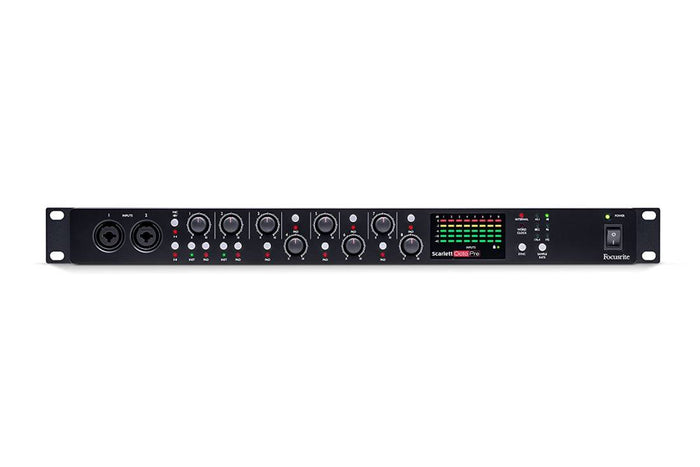 FOCUSRITE SCARLETT OCTOPRE 8 MIC PRE AMP WITH ADAT CONNECTIVITY