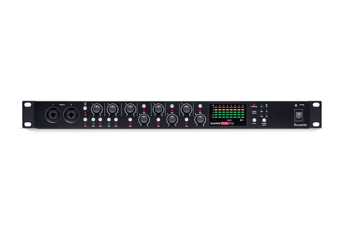 FOCUSRITE SCARLETT OCTOPRE 8 MIC PRE AMP WITH ADAT CONNECTIVITY | Zoso Music