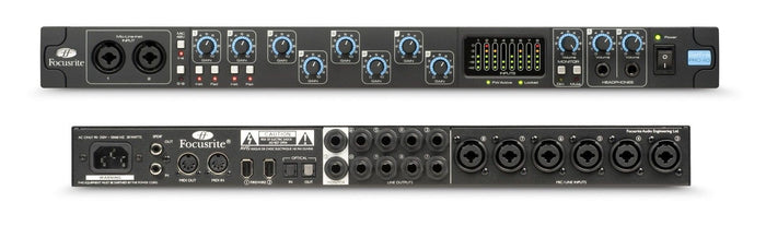 FOCUSRITE SAFFIRE PRO 40 20-IN, 20 OUT FIREWIRE INTERFACE