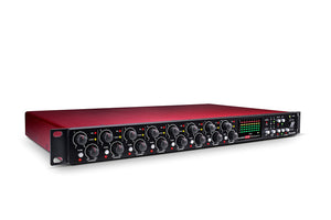 FOCUSRITE OCTOPRE MARK 2 DYNAMIC 8 - CHANNEL MICROPHONE PREAMPLIFIER WITH COMPRESSION | Zoso Music