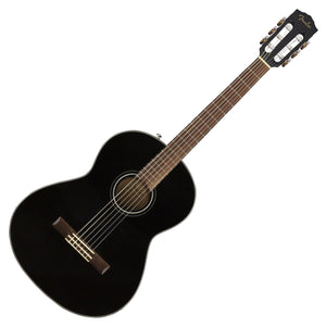 FENDER CN-60S CLASSIC CLASSICAL ACOUSTIC GUITAR, BLACK | Zoso Music