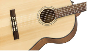 FENDER CN-60S CLASSIC CLASSICAL ACOUSTIC GUITAR, NATURAL | Zoso Music