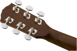FENDER CP-60S SERIES PARLOR ACOUSTIC GUITAR NATURAL | Zoso Music