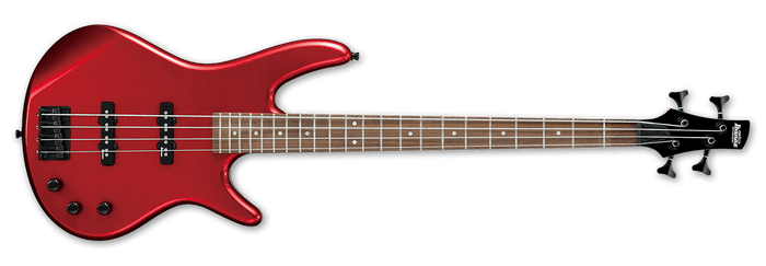 IBANEZ GSR320 4 STRING BASS GUITAR, CANDY APPLE