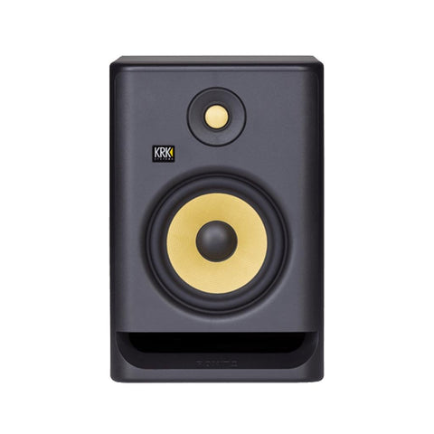 KRK RP7G4 ROKIT POWERED 7 GENERATION 4 ACTIVE STUDIO MONITORS - BLACK (EACH) | Zoso Music