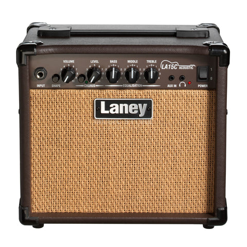 LANEY LA15C 15 WATT ACOUSTIC GUITAR AMPLIFIER