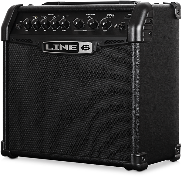 LINE 6 SPIDER 15 WATTS GUITAR AMPLIFIER