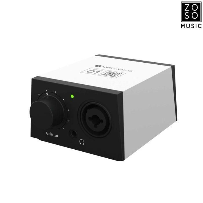 BANDLAB LINK ANALOG PORTABLE AUDIO INTERFACE
