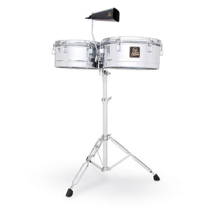 "LATIN PERCUSSION ASPIRE 13"" & 14"" TIMBALE, CHROME 