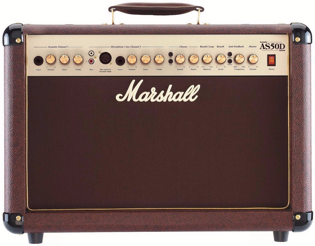 MARSHALL AS50D 50W COMBO ACOUSTIC AMPLIFIER | Zoso Music