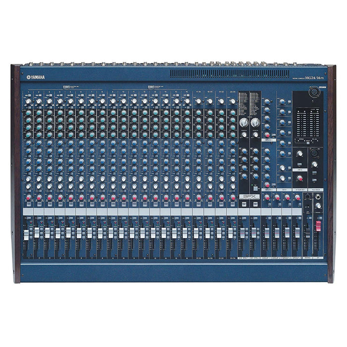 YAMAHA MG24/14FX  ANALOG MIXER ,16 MONO,4 STEREO,BUILT-IN EFFECTS