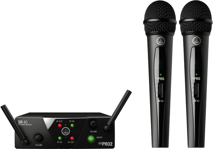 AKG WMS40 MINI DUAL VOCAL SET