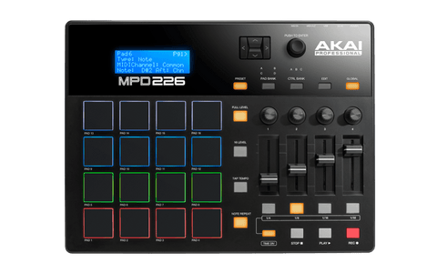 AKAI MPD226 | Feature-Packed, Highly Playable Pad Controller | Zoso Music