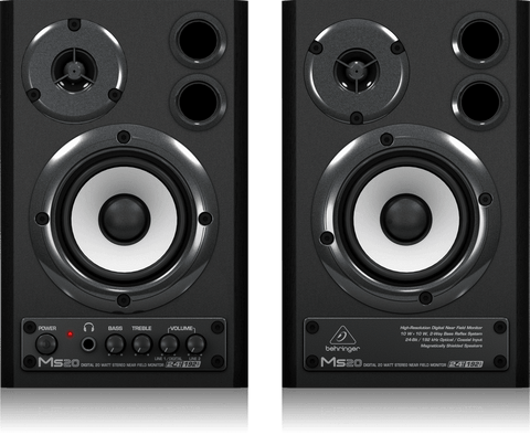 BEHRINGER MS-20 STUDIO MONITOR (PAIR) | Zoso Music