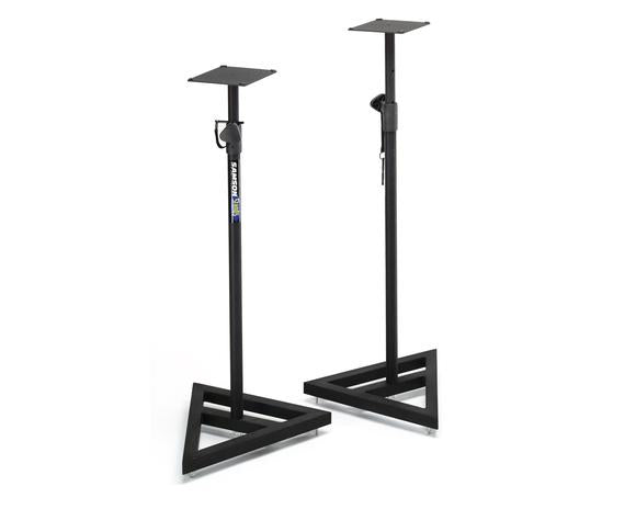 SAMSON MS200 HEAVY DUTY MONITOR STAND (PAIR)