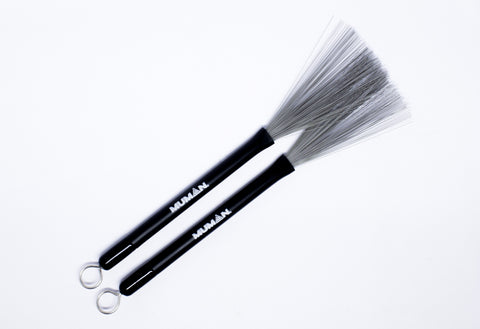 MUMAN RETRACTABLE WIRE BRUSHES | Zoso Music