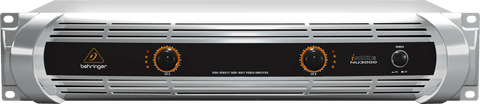 BEHRINGER NU-3000 POWER AMPLIFIER | Zoso Music