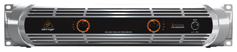BEHRINGER NU-6000 POWER AMPLIFIER | Zoso Music