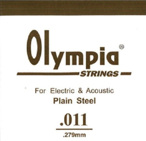 OLYMPIA 100PCS SINGLE STRING 009 FOR ELECTRIC GUITAR & ACOUSTIC | Zoso Music