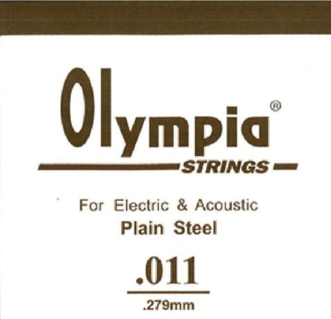OLYMPIA 100PCS SINGLE STRING 009 FOR ELECTRIC GUITAR & ACOUSTIC