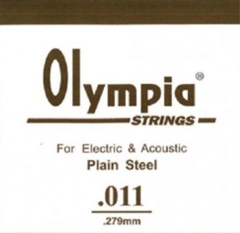 OLYMPIA 100PCS SINGLE STRING 011 FOR ELECTRIC GUITAR & ACOUSTIC | Zoso Music