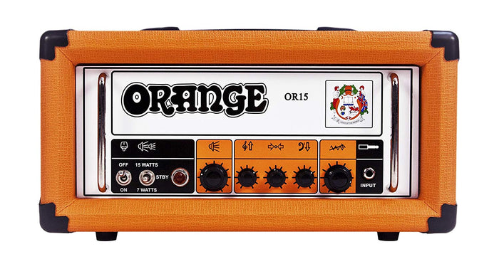 ORANGE OR15 15-WATTS GUITAR AMPLIFIER HEAD