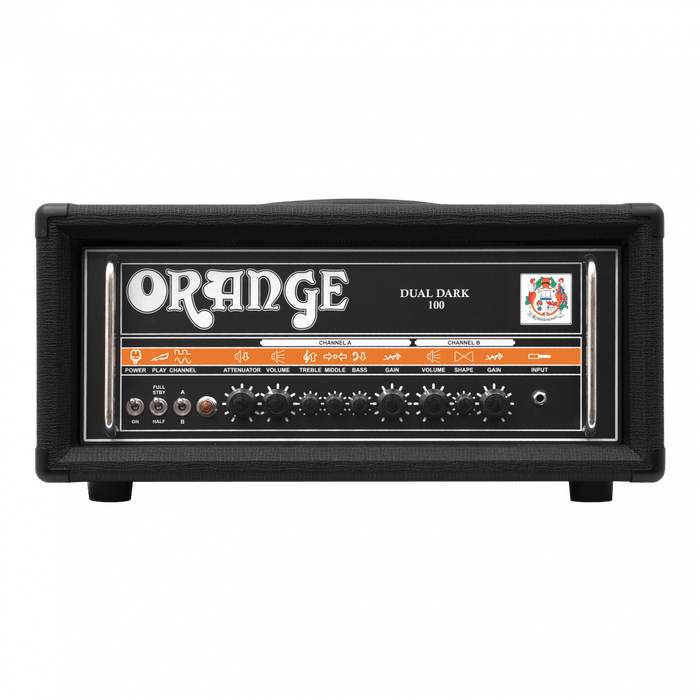 ORANGE DD100 DUAL DARK 100-WATTS TWIN CHANNEL GUITAR AMPLIFIER HEAD