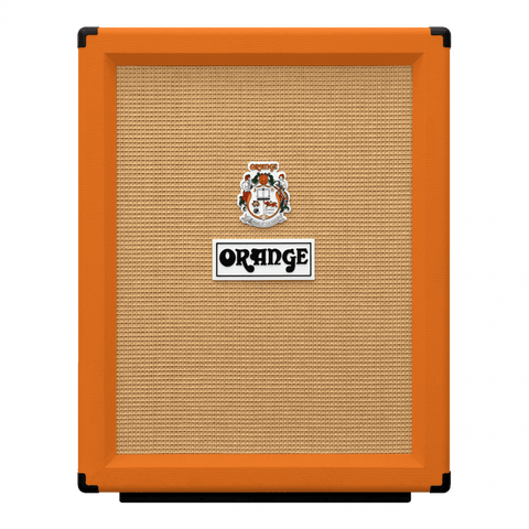 ORANGE ELECTRIC GUITAR CABINET 2X12IN PPC212-V VERTICAL | Zoso Music