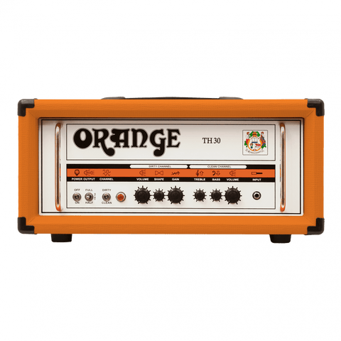 ORANGE TH30H THUNDER 30-WATTS TWIN CHANNEL GUITAR AMPLIFIER HEAD | Zoso Music