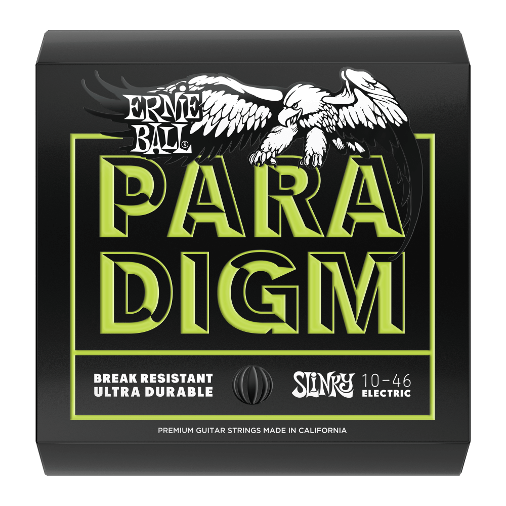 ERNIE BALL PARADIGM REGULAR SLINKY PARADIGM ELECTRIC GUITAR STRINGS - 10-46 GAUGE (EBP02021) | Zoso Music