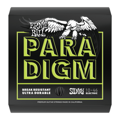ERNIE BALL PARADIGM REGULAR SLINKY PARADIGM ELECTRIC GUITAR STRINGS - 10-46 GAUGE (EBP02021)