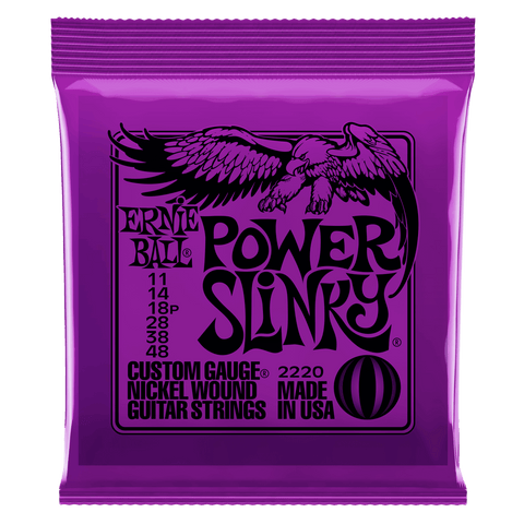 Ernie Ball Power Slinky Nickel Wound Set, .011 - .048 | Zoso Music
