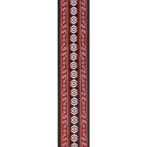 PLANET WAVES WOVEN GUITAR STRAP, HENNA | Zoso Music