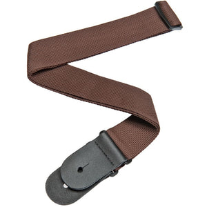 PLANET WAVES POLYPROPYLENE GUITAR STRAP, BROWN | Zoso Music