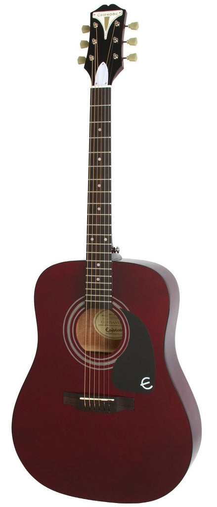 EPIPHONE PRO-1 ACOUSTIC GUITAR VINTAGE WINE RED LIMITED UNITS | Zoso Music