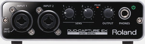 ROLAND DUO-CAPTURE EX USB AUDIO INTERFACE | Zoso Music