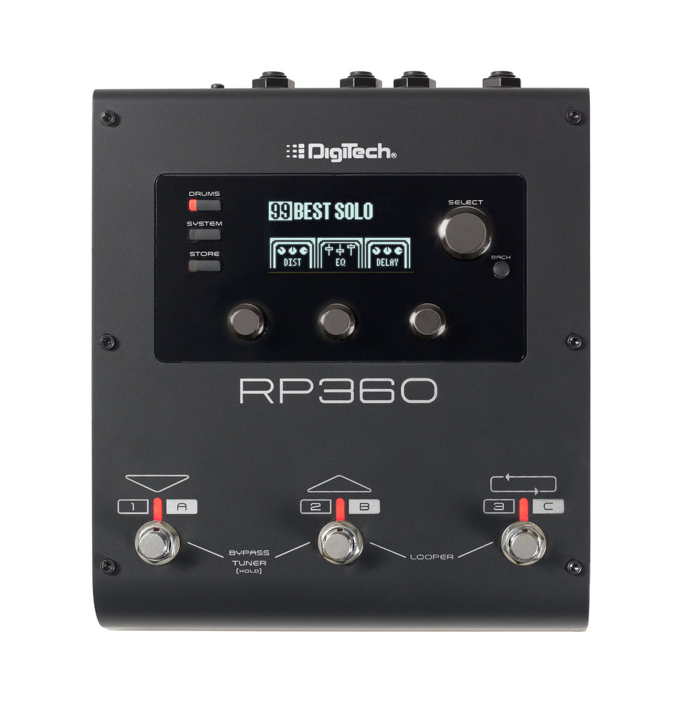 DIGITECH RP360 GUITAR MULTI-EFFECTS PEDAL | Zoso Music